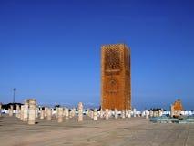 Hassan meczet - Rabat Obraz Royalty Free