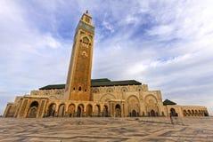 Hassan 2 meczet w Casablanca Maroko Zdjęcie Stock