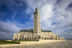 Hassan Mosque Royalty Free Stock Photos