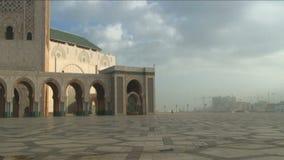 Hassan Mosque hand held shot stock video footage