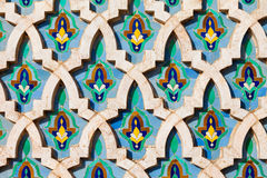 Hassan Mosque design Stock Images