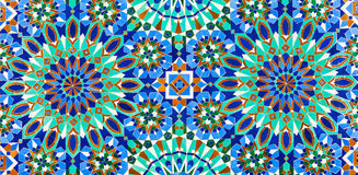 Hassan Mosque design. The Hassan II Mosque exterior pattern in Casablanca, Morocco. Very beautiful islamic pattern royalty free stock image