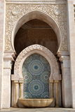 Hassan 2nd mosque decoration Royalty Free Stock Photo