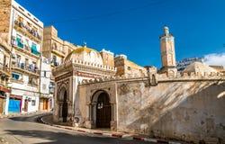 Hassan Pasha Mosque i Oran, Algeriet arkivbild