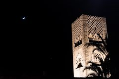 Hassan Tower Photographie stock libre de droits