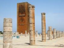 Hassan Tower di Rabat Immagine Stock Libera da Diritti