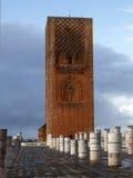 Hassan Tower en Rabat Foto de archivo