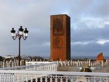 Hassan Tower en Rabat Imagenes de archivo