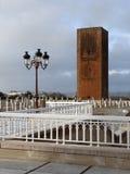 Hassan Tower en Rabat Foto de archivo libre de regalías