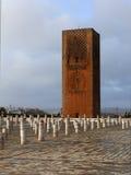 Hassan Tower en Rabat Fotos de archivo libres de regalías