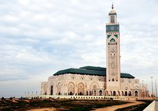 Hassan Tower and Mosque, Casablanca, Morocco Stock Photos