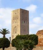 Hassan Tower Rabat Fotografering för Bildbyråer