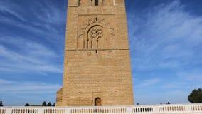 Hassan Tower in Rabat, Marokko stock video