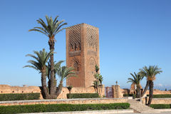 Hassan Tower in Rabat, Morocco Royalty Free Stock Photography