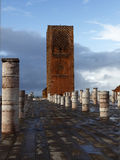 Hassan Tower in Rabat Stock Photo