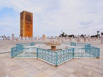 Hassan Tower in Rabat, Morocco Stock Photography
