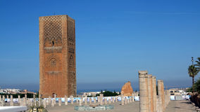 Hassan Tower in Rabat, Morocco Royalty Free Stock Photos