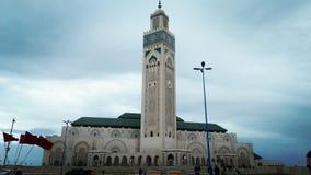 Hassane 2 Casablanca da mesquita Foto de Stock