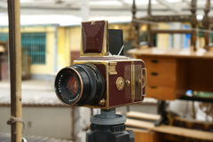 Hasselblad, gold Royalty Free Stock Photos