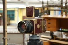 Hasselblad, złoto Zdjęcia Royalty Free