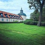 Hasselby, Szwecja †'Lipiec 29, 2015: Hasselby Slott, historyczny m Obraz Royalty Free