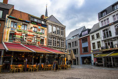 Hasselt, Belgium. Hasselt is a Belgian city and municipality, and capital of the province of Limburg stock photo