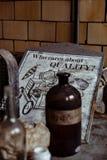 Hasselträ-Kartbok Exponeringsglas Företag - rulla, West Virginia Fotografering för Bildbyråer