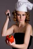 Hassen des Gemüses stockbilder