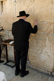 Hassidic Jew Praying Royalty Free Stock Photo