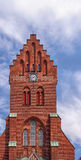 Hassleholm Kyrka Clock Tower Royalty Free Stock Photos