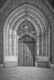 Hassleholm Kyrka Main Door Stock Images