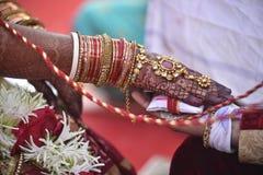 Hast Melap dans Gujrat Inde images stock