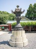 Hasta den Jinja relikskrin, Tokyo, Japan royaltyfri fotografi