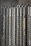 Haste de metal rosqueada Imagens de Stock