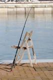 Haste de pesca Imagens de Stock