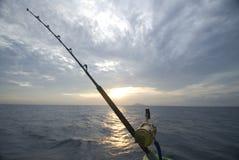 Haste de pesca Fotografia de Stock Royalty Free
