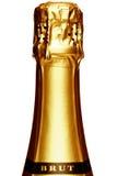 Haste de um frasco de Champagne Fotos de Stock