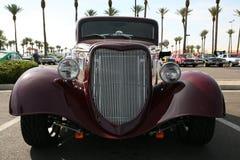 Haste roxa clássica da rua na mostra Imagem de Stock Royalty Free
