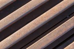 Hastes de ferro oxidadas Fotografia de Stock Royalty Free