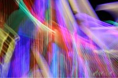 Hastes de néon Imagens de Stock Royalty Free