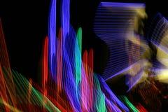 Hastes de néon Imagem de Stock Royalty Free