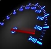 hastighet Arkivbild