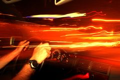 hastighet Arkivbilder