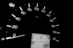 Hastighet för bilmått Arkivfoton
