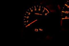 Hastighet för bilmått Royaltyfri Fotografi