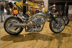 hastighet för egenavdelningsmotorbike Arkivbilder