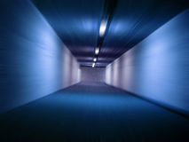 hastighet i tunnelen Arkivbild