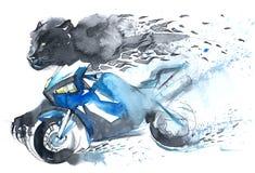 Hastighet och sport royaltyfri illustrationer