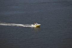Hastighet på vatten Arkivbild