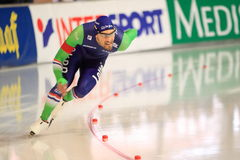 Hastighet som åker skridskor - Bob de Jong Royaltyfri Fotografi